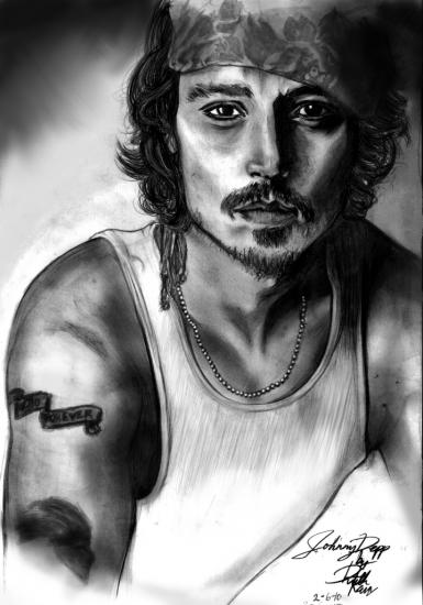 Johnny Depp by Ruth_Kan